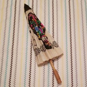 Other - Dia de los Muertos sugar skull decorative parasol